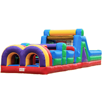 Party Rental Inflatable: 40' Obstacle Course