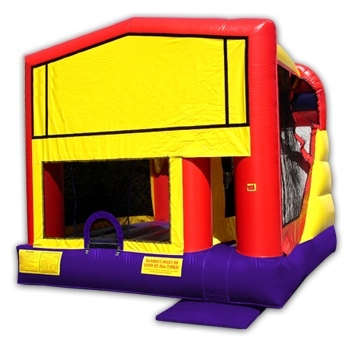 Party Rental Moonwalk: 4 in 1 Combo Bounce House