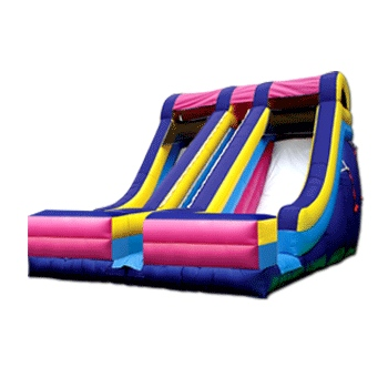 The Accelerator Party Inflatable Slide