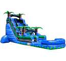 Party Rental Inflatable: The Blue Crush Water Slide