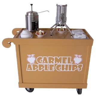 The Carmel Apple Chip Cart