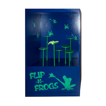 Party Rental Carnival Game: Flip-N-Frogs
