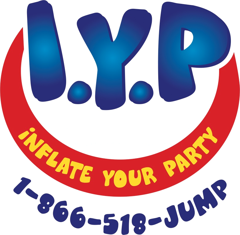 Inflate Your Party Logo and Header