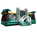 Party Rental Inflatable: The Jurassic Adventure Obstacle Course