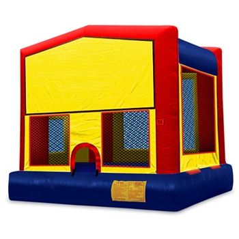 Party Rental Moonwalk: Module House Bounce House