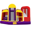 Party Rental Moonwalk: Ninja 5–in–1 Bounce House