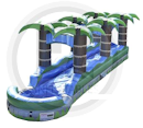 Party Rental Inflatable: The Palms Slip-N-Dip Water Slide