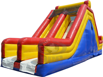 Party Rental Inflatable: The Rock Climb Slide