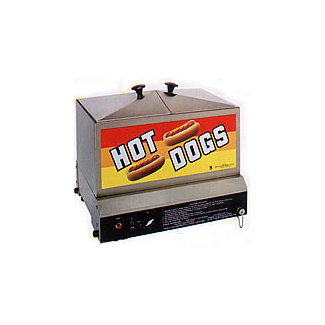 The Steamin' Demon Hot Dog Steamer