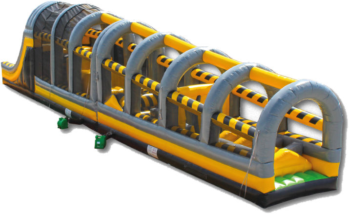 The Toxic Drop Inflatable Obstacle Course