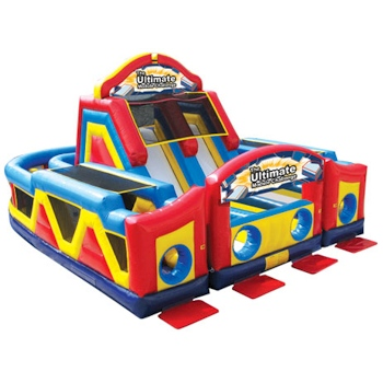Party Rental Inflatable: Ultimate Module Challenge Obstacle Course